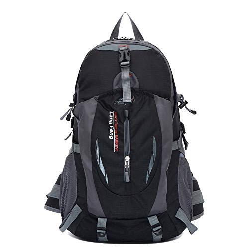 Shoulder Bags Black AllhqFashion FBUBC204003 Nylon Black Zippers Women's Dacron Casual y1HyUczOqX