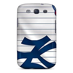 Hot Fashion HZJ1582bQdh Design Case For Sumsung Galaxy S4 I9500 Cover Protective Case (new York Yankees)
