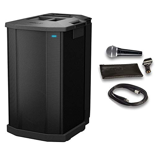 Bose F1 Model 812 Subwoofer Bundle with Shure Microphone, 15ft Cable and Accessories (5 Items)