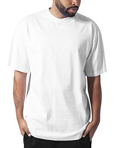 Urban Classics Herren T-Shirt Tall Tee, Weiß (White 220), Medium