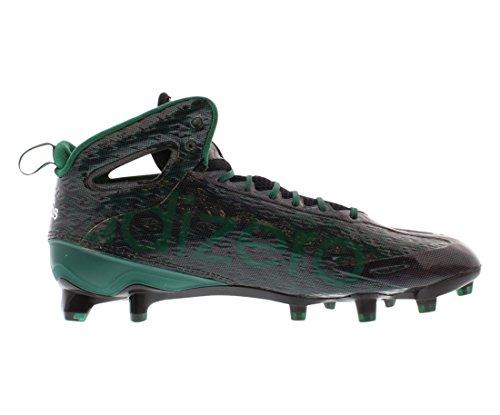 Scarpe Da Uomo Adidas Adizero 5-star 4.0 Mid Football Taglia Nero / Verde / Bianco