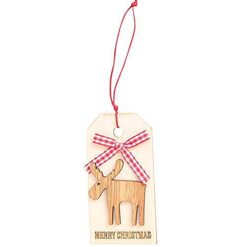 Christmas Decorations Merry Christmas Pendant Ornaments DIY Wood Crafts Gifts Xmas Tree Ornaments for Christmas Holiday Years Decoration Ornaments Party