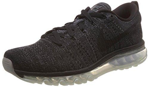 Flyknit Entrainement Nike Black dark anthrct Chaussures Max Homme Noir Taille Gris de Running Noir Black Grey RwXdFw