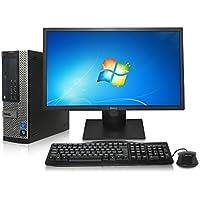 Dell Optiplex 990 SFF Desktop - Intel Core i5 3.1GHz, 16GB DDR3, New 1TB Hard Drive, Windows 7 Pro 64-Bit, WiFi, Display Port + New Dell 24 LCD Monitor! (Prepared by ReCircuit)