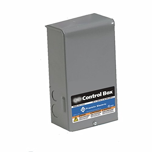 Control Box, 1/2HP, 230V, 1Phase by Franklin