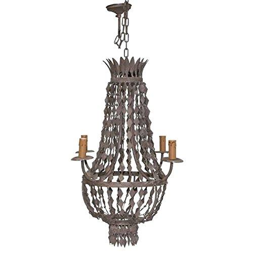 Better & Best Lámpara de techo con 4 luces, con diseño de ...