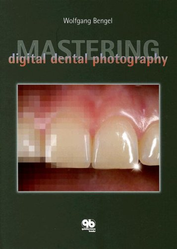 Provides information on digital dental photography. Topics include basic components of photography, digital technique, camera systems suitable for dental photography, photographing small objects, copying radiographs, image editing, special problems, ...