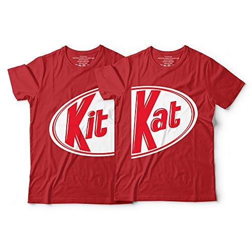 Kit Kat Matching Couple Candy Halloween Costume Chocolate Lovers Customized Handmade Hoodie/Sweater/Long Sleeve/Tank Top/Premium T-shirt -