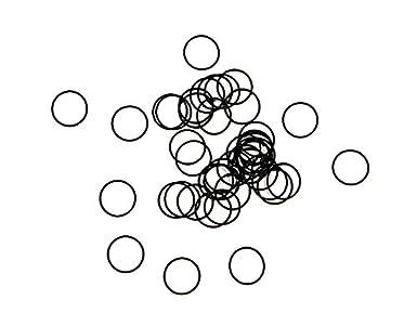 1 St. O-Ring Nullring Rundring 335,0 x 6,0 mm NBR 70 Shore A schwarz