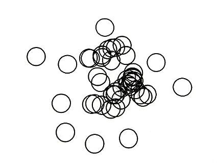 2mm x 1mm (1x2mm) Metric Buna-N NBR O-Rings Bulk, 70 Durometer ...