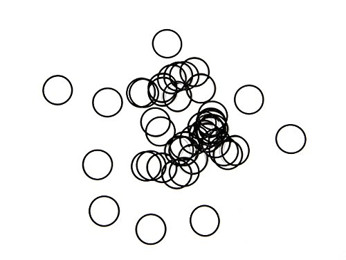 2mm x 1mm (1x2mm) Metric Buna-N NBR O-Rings Bulk, 70 Durometer, Black, 2mm ID, 4mm OD, 1mm Cross Section ( 50 Pack / Pieces )