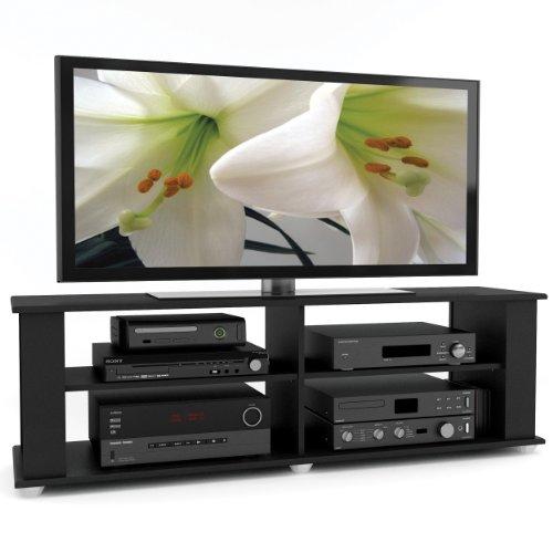 Sonax FS-3580 Fillmore 58-Inch TV Component Stand, Midnight