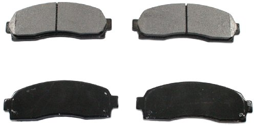 DuraGo BP833 MS Front Semi-Metallic Brake Pad