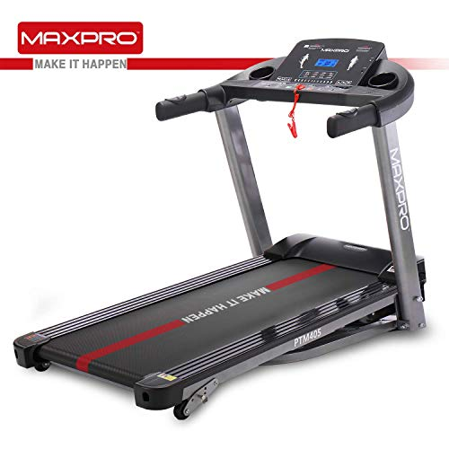 Best Folding Treadmill MAXPRO PTM405 2HP(4 HP Peak)