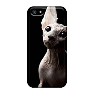 Hot KooR2055 Animals Cats Sphinx Cat Tpu Case Cover Compatible With Iphone 5/5s