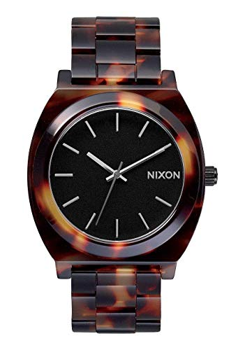 (Nixon Women's A327-646 Plastic Analog with Black Dial Watch)