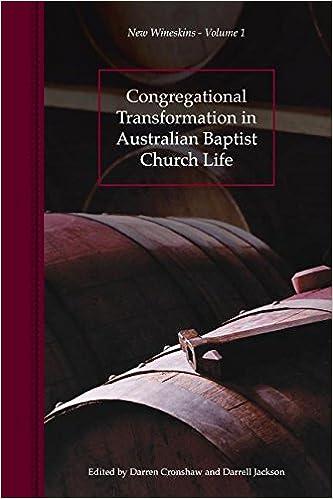 Congregational Transformation in Australian Baptist Church