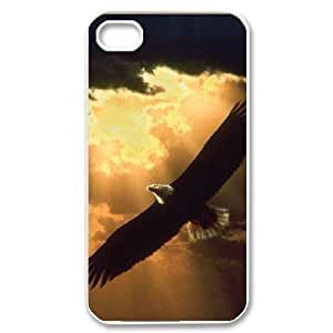 Hard Shell Case Of Eagle Customized Bumper Plastic case For Iphone 4/4s