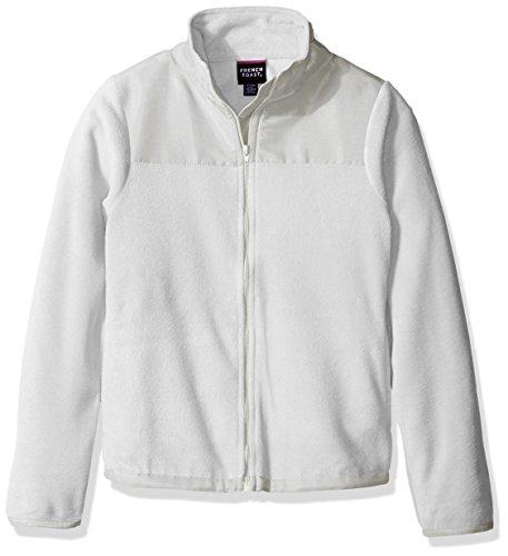 French Toast Girls' Big Zip Up Jacket, High Rise Large -