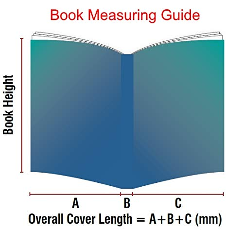 KPC Book Protection 248mm 140micron PVC Book Cover 3 Pack