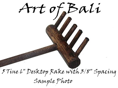 Art of Bali Zen Garden Rake 50 Pack Five Tine Desktop Rake - Zen Gardens by Art of Bali