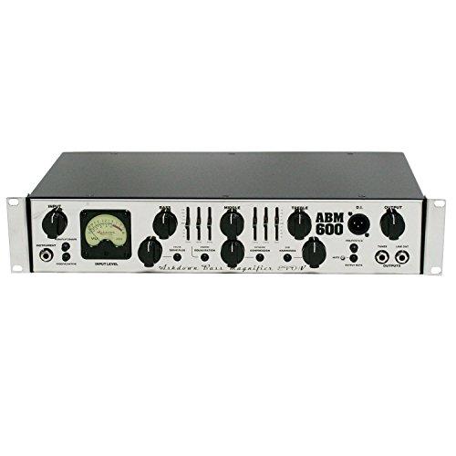 Ashdown ABM 600RC EVO IV 600-Watt Rackmount Bass Head ()