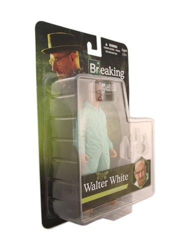 Green Haz-Mat Suit Walter 6 Figure White Mezco Toys Breaking Bad