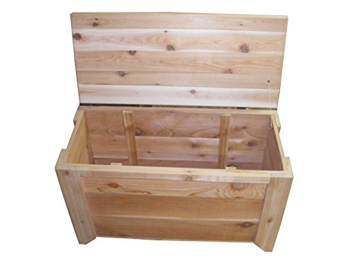 Cedar Chest Storage Bench Size 30 x 14 x 20 inches by Steve's Gift Shoppe by Steve's Gift Shoppe