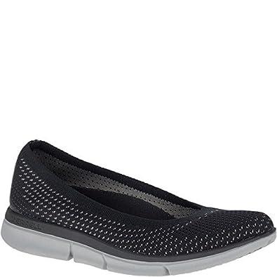 a80799369e Merrell Women's Zoe Sojourn Ballet Knit Q2 Arch Support Slip-on Shoe  Black/Grey
