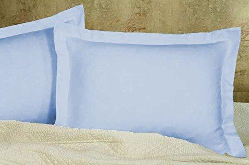 light blue pillow shams - 2