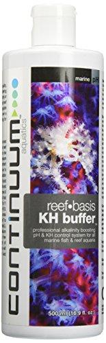 Seachem Alkaline Buffer - Continuum Aquatics ACO30501 Reef Basis Kh Alkal Boost Buff Liquid for Aquarium, 16.9-Ounce