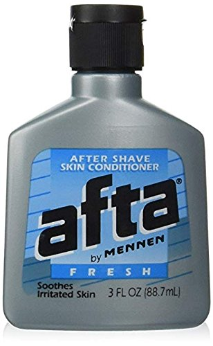 After Shave Afta - Afta by Mennen After Shave Skin Conditioner, Fresh 3 oz (88.7 ml) Pack of 3