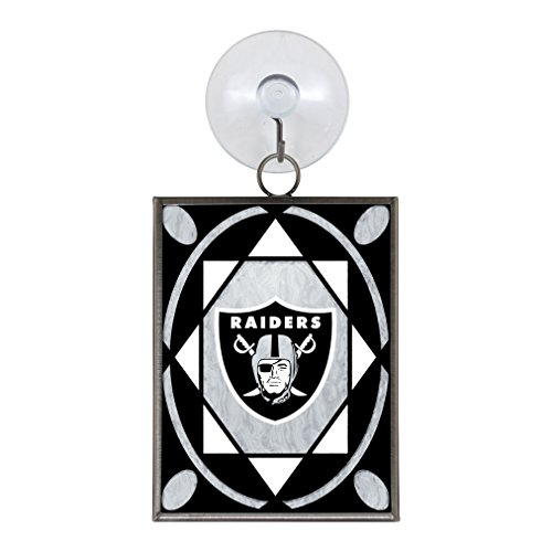 (NFL Oakland Raiders Stained Glass)