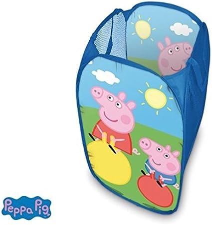 Peppa Pig Pig cesta de ropa de juguete de caja: Amazon.es: Hogar