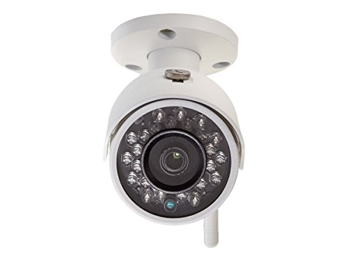 (Q-See QCW3MP1B - Network Surveillance Camera - Outdoor - Weatherproof - Color (Day&Night) - 3.6mm Lens - 3 MP - 2304 X 1536 - Wi-Fi - White)