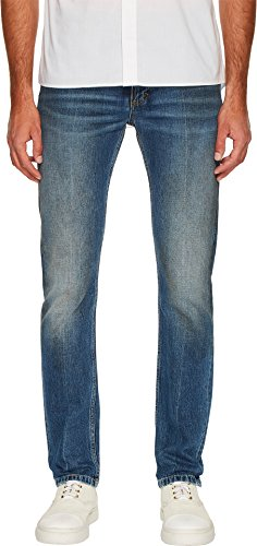 Marc Jacobs Mens Slim Fit SF Wash Denim In Blue Blue 52 (US 36) 32.5 32.5 Marc Jacobs Men Pants