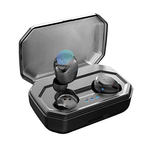 Antimi Bluetooth Kopfhörer Kabellos Noise Cancelling In Ear Ohrhörer Wireless Bluetooth 5.0 Headset mit 3000mAh Batterie Sport IPX7 Wasserdicht Mikrofon für iPhone Android …