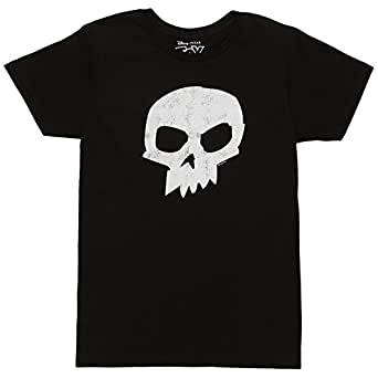 Toy Story Sid Skull T-shirt (Small,Black)