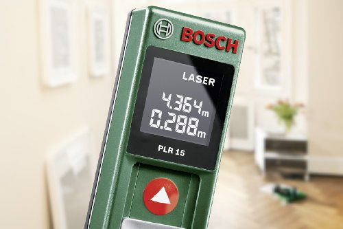 Bosch Digitaler Laser Entfernungsmesser Plr 15 : Bosch diy digitaler laser entfernungsmesser plr 15 2x batterien aaa