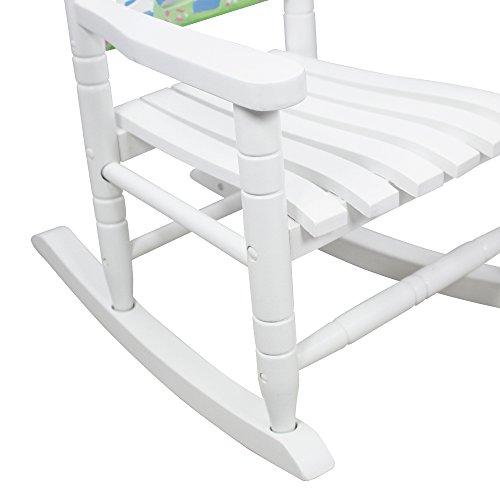 Teamson Kids - Safari Wooden Rocking Chair for Children - Zebra by Teamson Design Corp (Image #2)