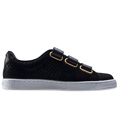 Puma Basket Strap ExoticSkin W Calzado black