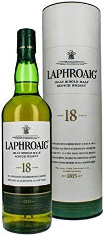 ラフロイグ 18年 シングルモルト ウィスキー 48度 700ml [並行輸入品]