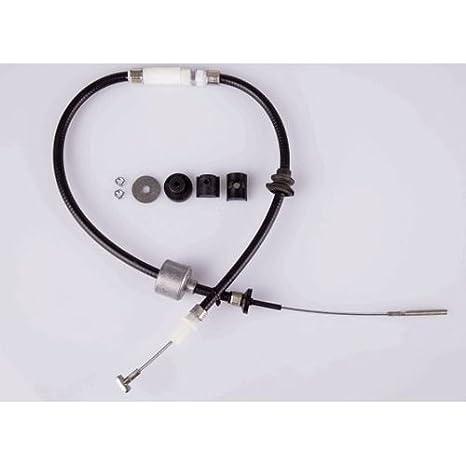 HELLA PAGID 8AK 355 701-761 Cable de accionamiento, accionamiento del embrague, Longitud 1 [mm]: 1100, Longitud 2 [mm]: 820: Amazon.es: Coche y moto