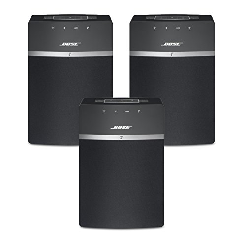 Bose SoundTouch 10 Wireless Music System Bundle 3-Pack - Black by Bose
