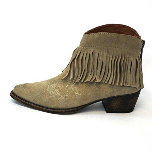 Marca flecos 3 el de CLUB botas para de de en borla talón con Liverpool £114 púrpura estándar vaquero diseño bajo Chinchilla Lucky de decoración Unido de Reino del diseño ARwArq
