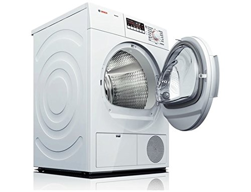 Bosch WTB86200UC 300 4.0 Cu. Ft. White Stackable Electric Dryer - Energy Star by Bosch
