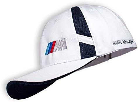 BMW blanco brillante Gorra BMW///M Front Side Logo nueva Colección ...