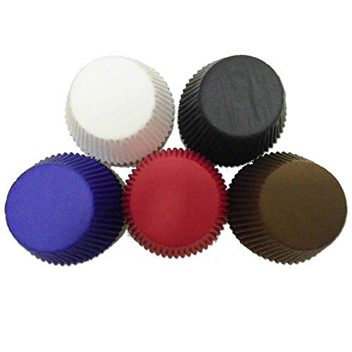 red and black cupcake liners - 8