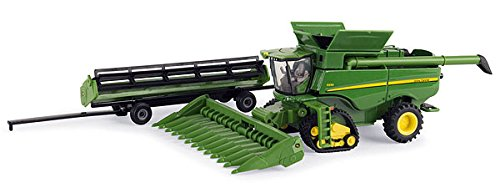 John Deere S690 Combine with Tracks 1/64