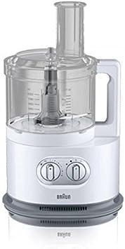 Braun FP 5150 Kompakt-Küchenmaschine Weiss: Amazon.es: Hogar